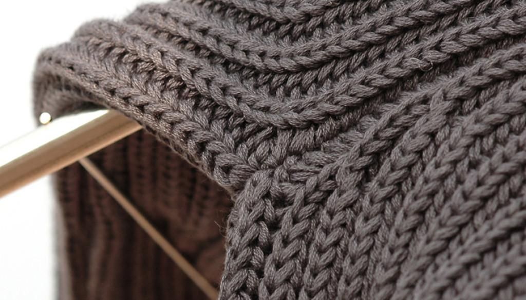 maglieria calata in maglia inglese
